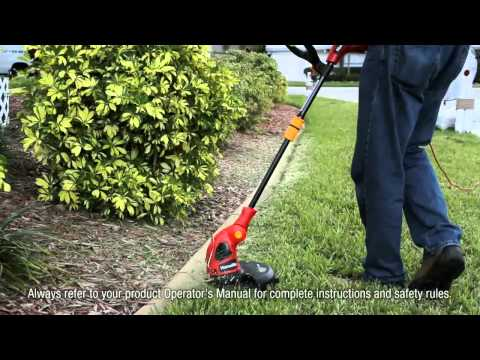 "Homelite 2-in-one 14"" Electric Timmer/Edger"