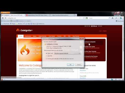CodeIgniter Tutorials: Introduction to CodeIgniter (Part 1/11)