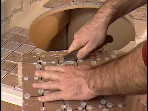 How to Install a Bathroom Vanity with Mosaic Tiles - The Home Depot