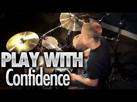 Play Drums With Confidence - Drum Lessons