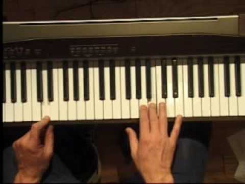 Piano Lesson - How to Play the D major scale (right hand)