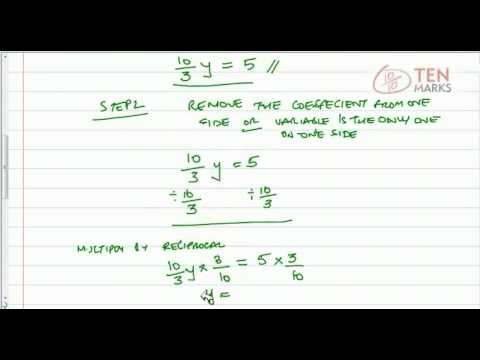Solve Mixed Number Equations