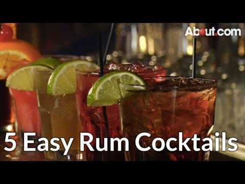 How to Make 5 Easy Rum Cocktails
