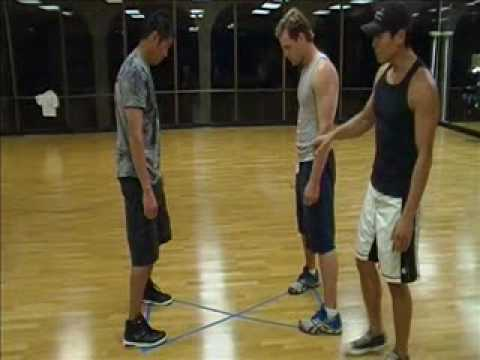 Wing Chun - Outside Triangle Footwork (basic structure)