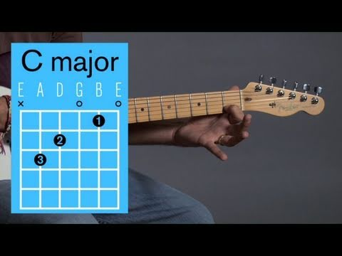 How to Play Guitar: Beginners / Open Chords: C Major