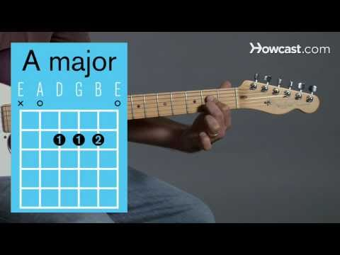 How to Play Guitar: Beginners / Open Chords: A Major