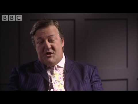 Stephen Fry's manner - BBC celebrity interview