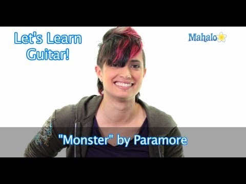 "How to Play ""Monster"" by Paramore on Lead Guitar"