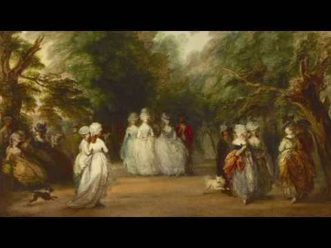 "Thomas Gainsborough, ""The Mall in St. James's Park"""