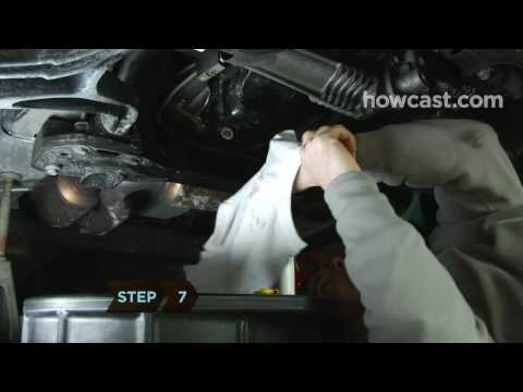 How to Change Your Car's Oil: Part 1