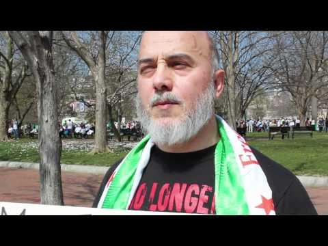 Syrian-Americans Demand Regime Change