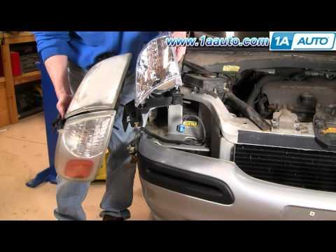 How To Install Replace Headlight Chevy Venture Pontiac Montana more 97-05 1AAuto.com