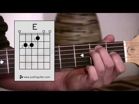 The E Chord (Guitar Lesson BC-113) Guitar for beginners Stage 1