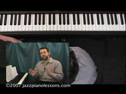 Jazz Piano Lesson E-lesson #14 [Blues Progressions]