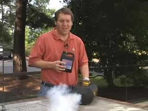 How a Fog Machine Works