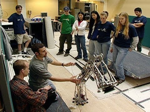 High School Students Collaborate in Robotics Competition