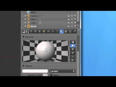 Super3boy's Eleventh Blender Tutorial(Glass - Blender 2.5)
