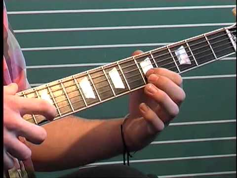 Theme To Power Rangers - Tapping Solo Guitar Lesson - Spencer Askin