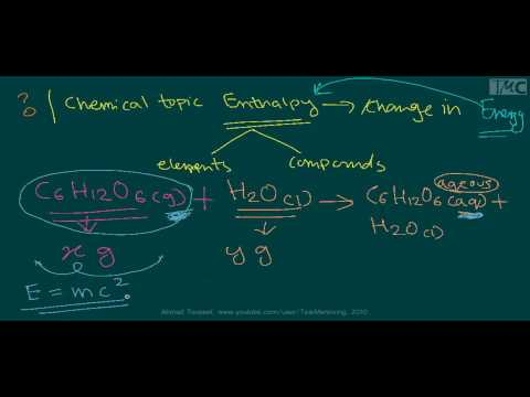 Thermodynamics: Enthalpy-Mass-Energy Intro.