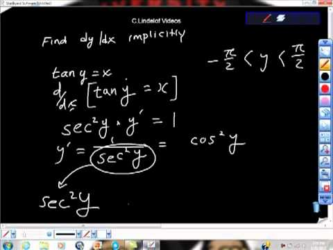 Use Implicit Differentiation to Find dy/dx tan(y) AP Calculus AB