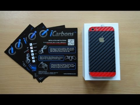 iPhone 5 Carbon Fiber Skins Design & Protection