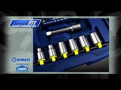 Kobalt SpeedFit - Available Exclusively at Lowe's