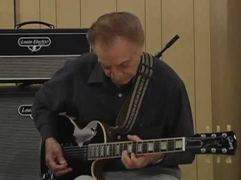 Lou Pallo jazz guitar chord and inversions lesson part 2 Les Paul Trio guitarist