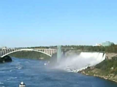 Niagara Falls - Rainbow - Afternoon View