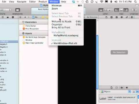 iPhone - iPad Development  - Making A Universal App - Tutorial