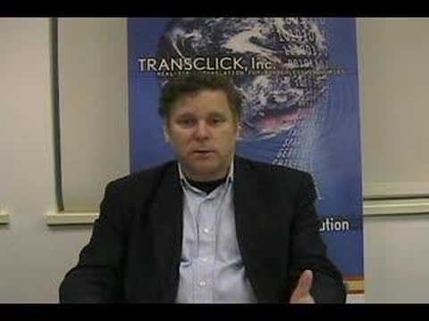 Technology Pioneer 2008 - Robert Levin (Transclick)