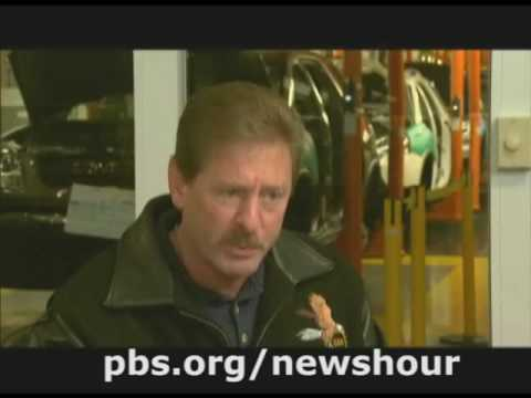 THE NEWSHOUR | Paul Solman on the Auto Industry |  PBS
