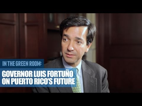 Governor Luis Fortuño on Puerto Rico's Future