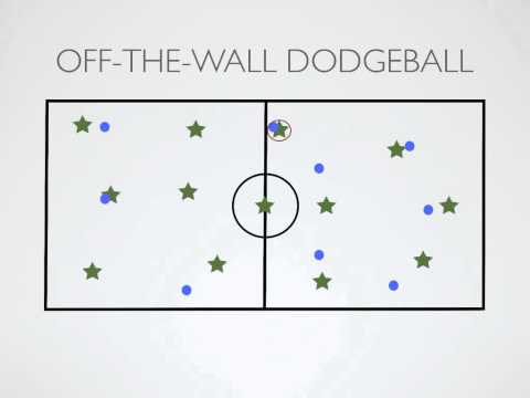 Physical Education Games - Off The Wall Dodgeball