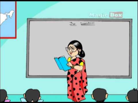 Telugu Rhymes - GANDHI THATHA - BALA NANDHAM VOLUME 1