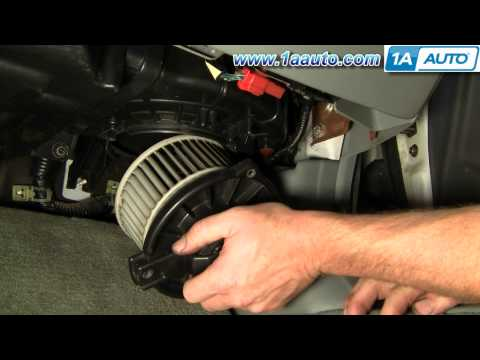 How To Install Replace Heater AC Blower Motor Honda Accord Civic Acura CL EL Integra 92-06 1AAuto
