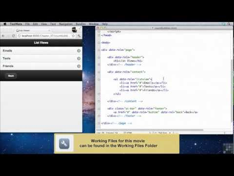 JQuery Mobile Tutorial | Count Bubbles | InfiniteSkills