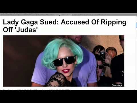 "Lady Gaga Sued for ""Judas"""