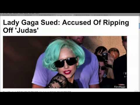 """Lady Gaga Sued for """"Judas"""""""