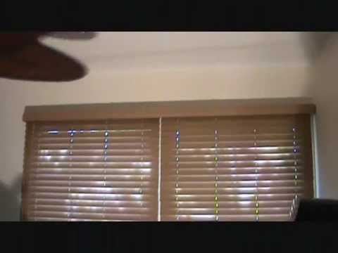How to remove a set of miniblinds