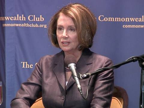 Pelosi Urges Congress To Ratify Nuclear Arms Treaty