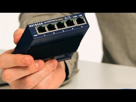 Internet Setup 101: What Is an Ethernet Switch?