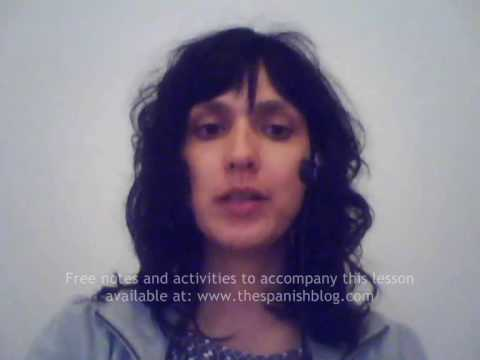 Beginners Spanish Lesson 72 Pronunciation (Part 2)