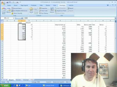 Mr Excel & excelisfun Trick 36: VLOOKUP w Approximate Match & Unsorted Table