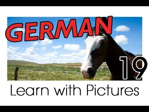 Learn German - German Farm Animals Vocabulary