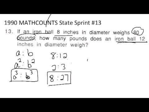 1990 MATHCOUNTS State Sprint #13