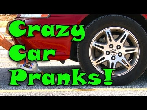 Crazy Car Pranks!