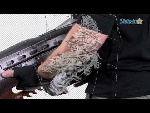 Photoshop Tutorial - Add a Tattoo