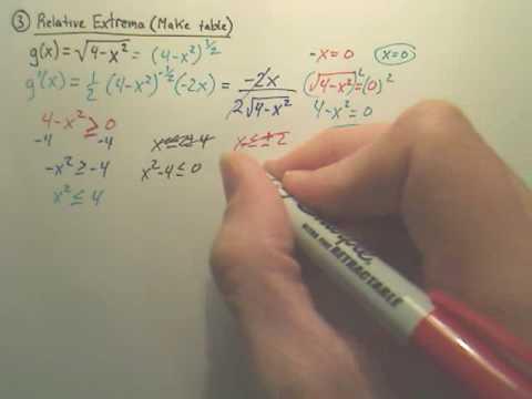 3.1-3.3 Quiz Review p3 - Calculus