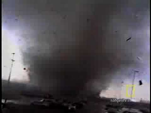 Tornado Rips Through Air Force Base