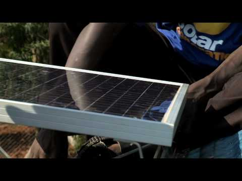 Bringing Solar to Mama Sarah Obama